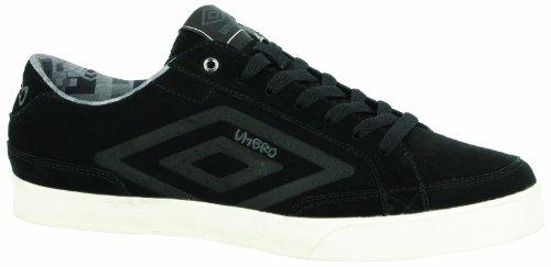 Umbro  Terrace Low Suede,  Scarpe da tennis uomo Nero Noir (229 Noir/Schiste) 41