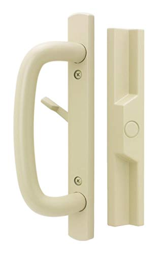 Veranda Schiebetürgriff-Set für Glas- / Terrassentüren, mit Einsteckschloss Tan 1-1/2 Inch,with Mortise Lock,without Key Cylinder - Türgriffe Schlage äußeren