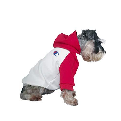 Wikibird Hunde Kleidung Welpen Kostüm Hund Sweatshirt Pullover Frühjahr Kapuzenpullover Outdoor Pet Shirt Weiches Bequemes Spleißen Dünne Kapuzen