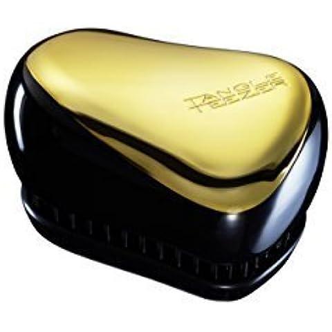 Tangle Teezer Compact Styler Professional Cepillo para desenredar, color negro y dorado