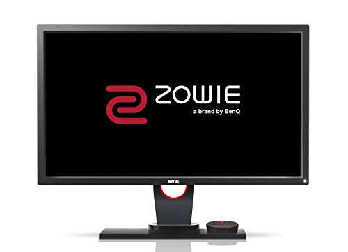 BenQ ZOWIE XL2430 60,96 cm (24 Zoll) e-Sports Gaming Monitor, (Höhenverstellung, S Switch, Black eQualizer, 1ms Reaktionszeit, 144Hz) grau