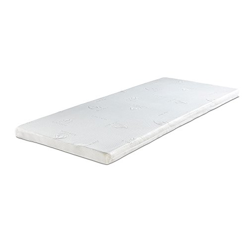 aktivshop Matratzenauflage Visco Topper, Matratzen Topper, 90 x 200cm, 7cm dick