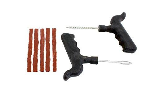 HUKITECH Pannenhilfe Auto Reifen Reparaturset - schnelle Reparatur im Notfall - Reifenreparatur Set Reifen-Reparatur-Set