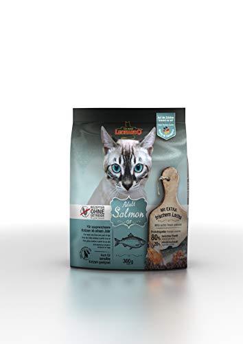 Leonardo Adult GF Salmon [300g] Katzenfutter | Getreidefreies Trockenfutter für Katzen | Alleinfuttermittel für Katzenrassen ab 1 Jahr