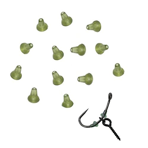 NewShot Hook Stops Beads Carp Fishing Terminal Tackle for Pop up Hair Chod Rigs Bait Screws(Pack of 30)