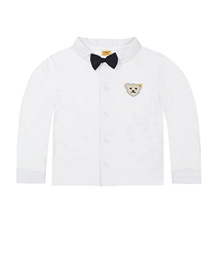 Steiff Baby-Jungen Hemd 1/1 Arm, Weiß (Bright White 1000), 62