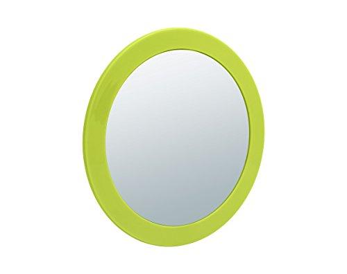 Sanwood 6650907 Nelly Kosmetikspiegel 5-fach Vergrößerung Aufsatzspiegel mit Saunäpfen und...