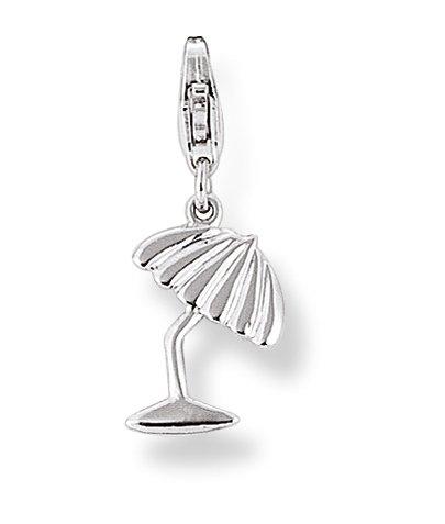 Charms Anhänger für Bettelarmband Silberschmuck Damen Charms Sonnenschirm