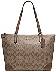 Coach Signature Tote Bag for Women