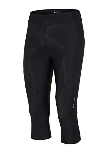 Ziener Damen CABIRA X-GEL-TEC lady (3/4 tights) Fahrrad-Tight/Rad-Hose - Mountainbike/Rennrad - atmungsaktiv|schnelltrocknend|gepolstert