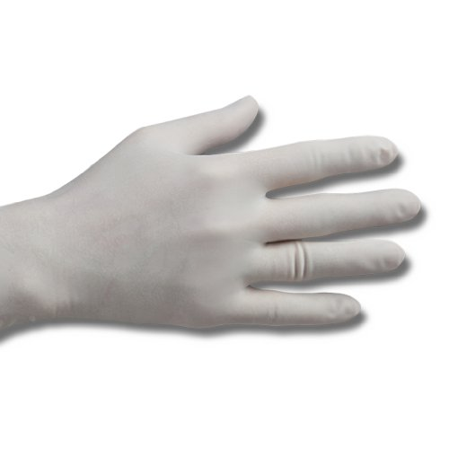 Meditrade 93219 Reference Latex Gepuderte OP-Handschuh, Steril, Größe 9 (100-er pack)
