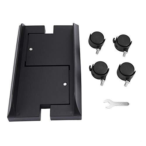Acouto Computerständerhalter, Abnehmbarer Computergehäuse-Ständerhalter Halterung Desktop-Mainframe-Lagerregal mit Bremse(黑色)