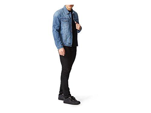 JIMMY CHOO Sneakers da Uomo in Pelle nabuk Nero - Codice Modello: Ace Put 163 Black Nero