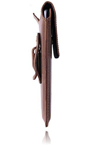 Burkley - Vintage Design - Leder Handyhülle für Apple iPhone 7 Plus (5.5 Zoll) Gürteltasche | Schutzhülle | Handytasche | Vertikal-Tasche | Holster | Case | Cover | Hülle mit Gürtel-Schlaufe (Kaffee B kaffee braun / coffee brown