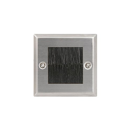 avlink-122270-single-steel-brush-wallplate