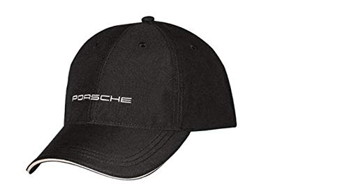Porsche Classic Black Baseball Cap