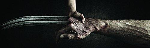 Poster locandina immagini ufficiali wolverine logan jackman artigli immortale