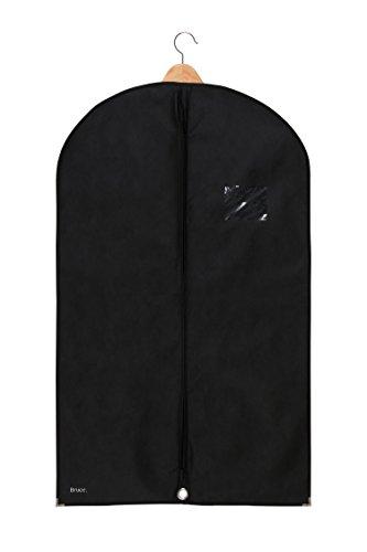 Bruce. Premium Kleidersack Hochwertige Kleiderhülle für Anzug, Jacke und Kleid | Atmungsaktive Anzugtasche für Reisen und Aufbewahrung | 100 x 60 cm | 1 Jahr Garantie