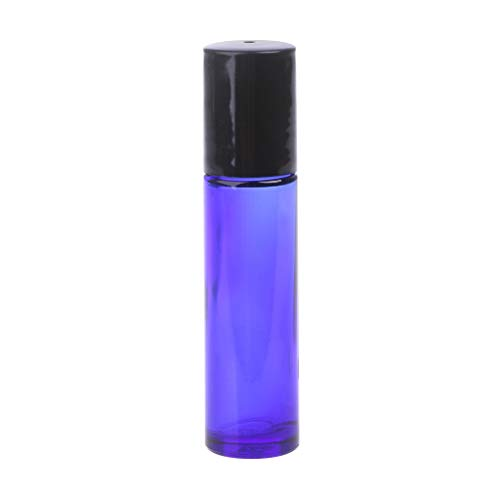 522bf6c0246b niumanery 1PC 10ML Colorful Roller Ball Glass Bottle Small for Perfume  Essential Oil Blue