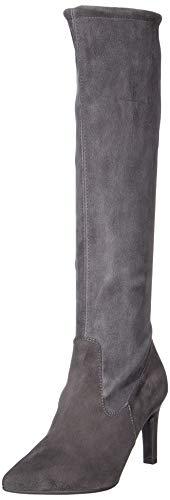 Peter Kaiser Damen UBERTA Hohe Stiefel Grau (Carbon Suede 128) 38 ()