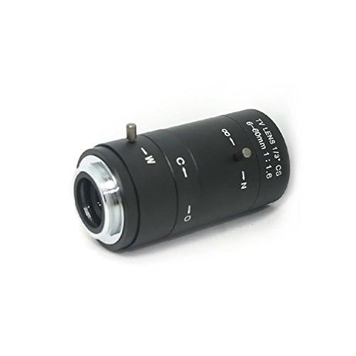 6-60mm Manuelle Gleitsicht F1.6CS C-Mount Objektiv Zoom Manual Iris