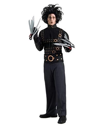 Horror-Shop Edward mit den Scherenhänden Kostüm mit Perücke