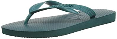 Havaianas HAV. TOP, Unisex Adults' Flip Flop Sandals, Green (Top Green / 1400)-  3/4 UK (37/38 EU) (35/36 BR)