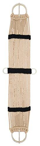 Weaver Leder-Cinch (17 Stränge) Rayon, Braun/Schwarz, 36-Inch Rayon Cinch