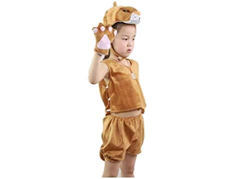 Travestimenti matissa da animali senza maniche, per bambini, estivi, per pigiama party, cosplay