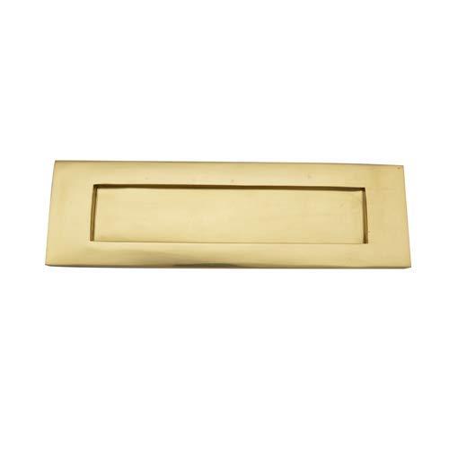 Adonai Hardware Irshemesh - Plato para letras, diseño victoriano, lacado pulido