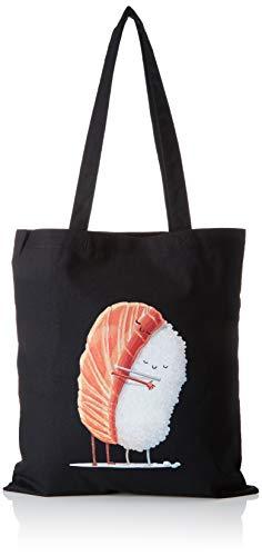 Texlab Sushi Love - Stoffbeutel, schwarz -