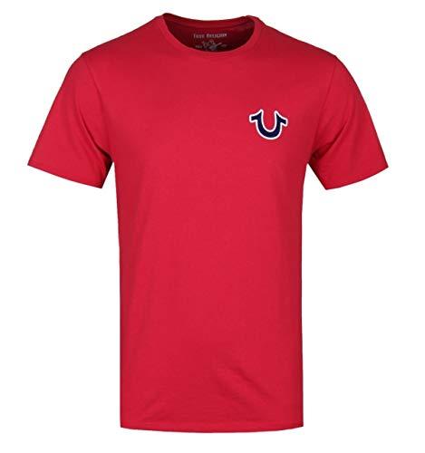 True Religion Buddha-Logo-rotes T-Shirt