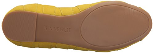 Nine West Munchkin Suede Ballet Flat yellow