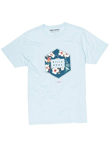 Billabong Herren Access Short Sleeve T-Shirt Carolina Blue