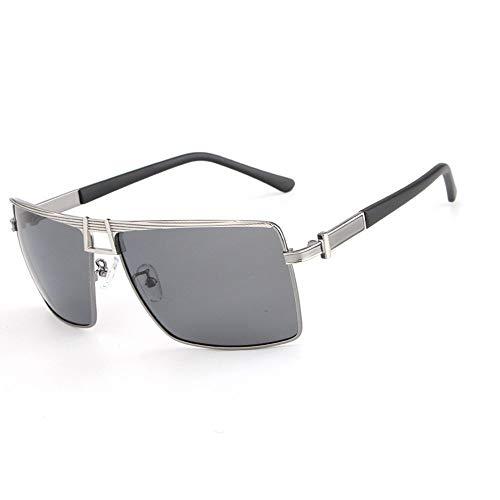 YanFa Sunglasses Lady, Sonnenbrille, Mode, Persönlichkeit, unregelmäßig, grau, S00223