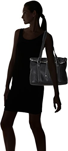 Tamaris LOTTA Shopping Bag 1267152-450 Damen Shopper 35x27x14 cm (B x H x T) Schwarz (Black)