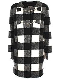Cappotto Donna Pinko CLARK 1 Bianco nero Autunno Inverno Bianco nero 42 e82e35e8d86