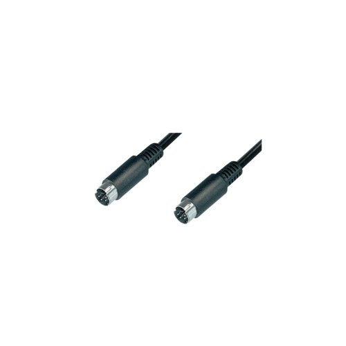 LogiLink CA1059 Video Kabel, 2X S-Video Male, 10,0m 2 X S-video