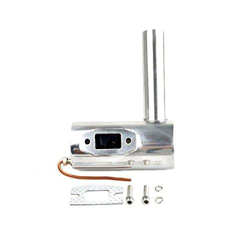 LaDicha CCM Rauch Abgas Dämpfer Rohr für DLE55 DA50 GP50R RC Flugzeugbenzin Motor (Dämpfer Motor)