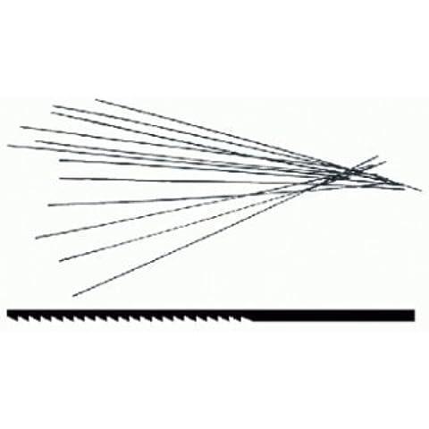Triuso–Lama per sega, misura 1, fine, per legno, 130mm,