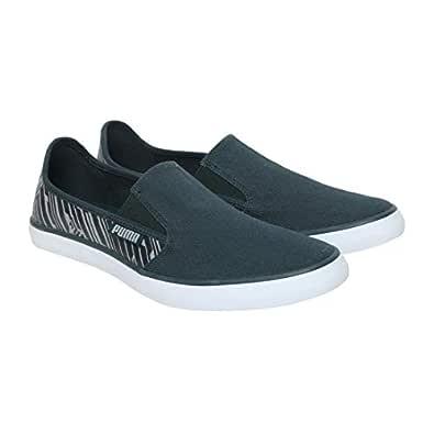 Puma Men's Campario Idp Ponderosa Pine-Quarry Green Sneakers-6 UK (39 EU) (7 US) (37089401_6)