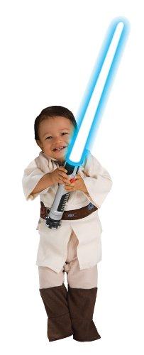 Obi-Wan Kenobi Kinderstrampler aus Star Wars, (Star Kostüme Halloween Wars Baby)