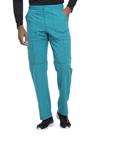 Dickies Dynamix Men's Zip Fly Cargo Pant Teal Blue M Short -
