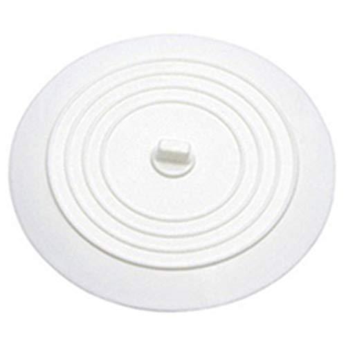 HIPENGYANBAIHU Auslaufsicherer Wasserstopper Waschbecken Haarfänger Runder Silikonflacher Deckel Küchenablassschraube Universal