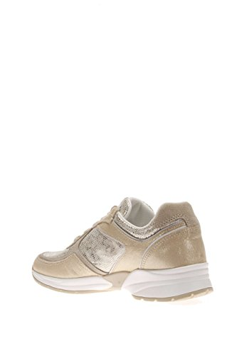 Nero Giardini Damen Sneaker p615100d-415Sneaker Leder Platino