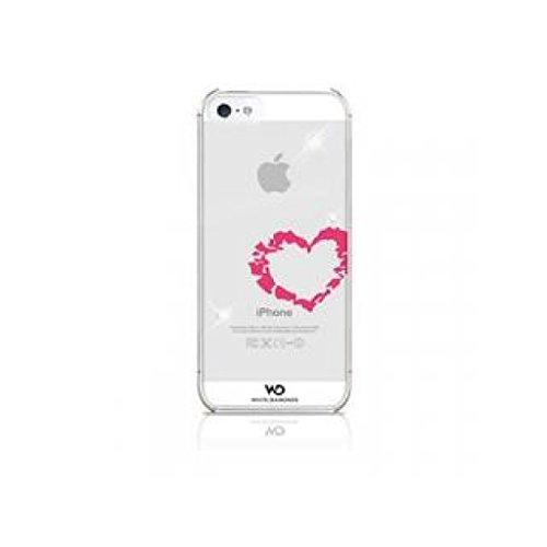 White Diamonds WDIP5KISS Lippenstift/Kuss Handy Case für Apple iPhone 5/5S/SE Lippenstift Herz