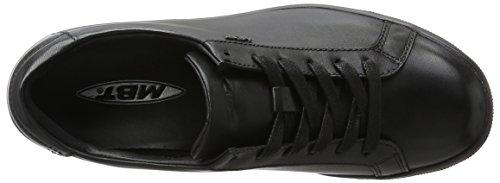 MBT Jambo 6s, Sneaker a Collo Basso Donna Nero (Black Nappa)