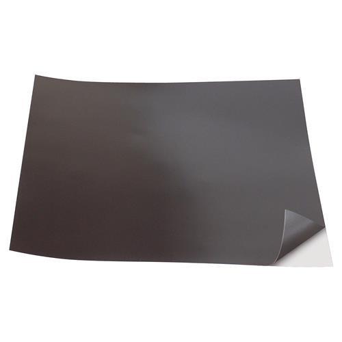 Unbekannt 206118 1533553 Magnetische Klebefolie, 200x200x0,5mm, schwarz, 1 - Pack