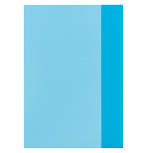Preisvergleich Produktbild herlitz Heftschoner DIN A4, PP, transparent-blau VE=1