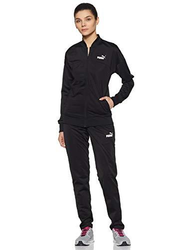 PUMA Classic Tricot Suit, op, Tuta Sportiva Donna, Nero Black Black, XL